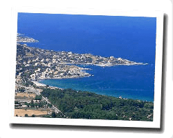 seaside holiday rentals Algajola