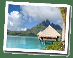 kuste am meer Bora-Bora