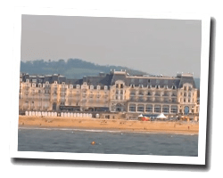 seaside holiday rentals Cabourg