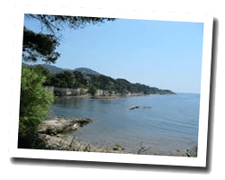 seaside holiday rentals Carqueiranne