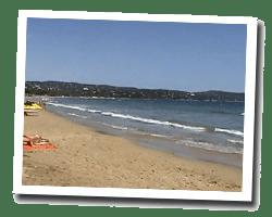 kuste am meer Cavalaire-sur-Mer
