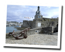 seaside holiday rentals Concarneau
