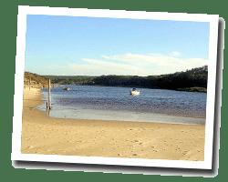kuste am meer Contis-les-Bains