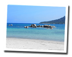 seaside holiday rentals Corsica South coast