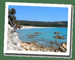 seaside holiday rentals Coti-Chiavari
