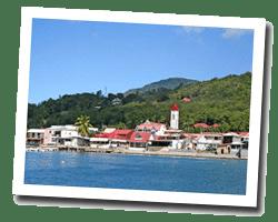 seaside holiday rentals Deshaies