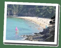 kuste am meer Etables-sur-Mer