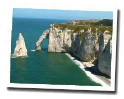 seaside holiday rentals Etretat