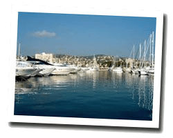 seaside holiday rentals Golfe-Juan