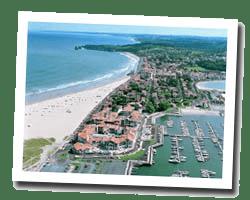 seaside hotels hendaye