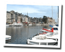 seaside holiday rentals Honfleur