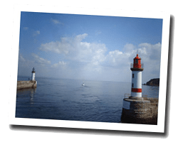 kuste am meer Insel Groix