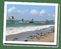 kuste am meer La Plaine-sur-Mer