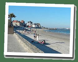 seaside holiday rentals Larmor-Plage