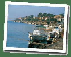 kuste am meer Le Cap d'Agde