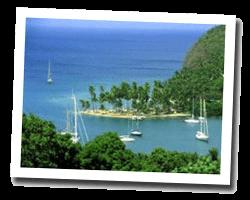 seaside holiday rentals Le Marin