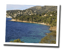 seaside holiday rentals Le Rayol Canadel