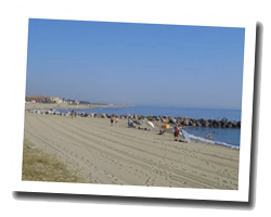 seaside holiday rentals Aude-Roussillon coast