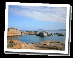Hôtel vue mer lumio