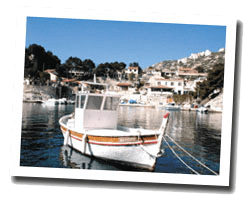 kuste am meer Martigues
