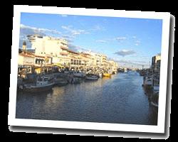 seaside holiday rentals Palavas-les-Flots
