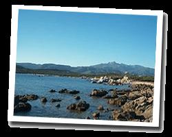 seaside holiday rentals Pianottoli