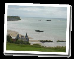 Hôtel vue mer plages_du_debarquement