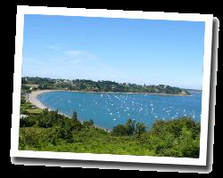 kuste am meer Ploubazlanec, Loguivy-de-la-Mer