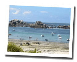 seaside holiday rentals Plouguerneau