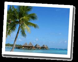 Hôtel vue mer polynesie