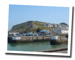 seaside holiday rentals Port-en-Bessin-Huppain