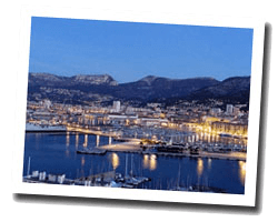 seaside holiday rentals Toulon area
