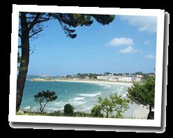 seaside holiday rentals Trévou-Tréguignec