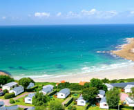 camping bord de mer  Maupertus-sur-Mer