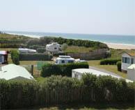 camping bord de mer  Les Pieux