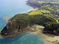 seaside campsite  Saint-Cast-le-Guildo