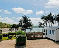 seaside campsite  Trélévern