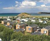 seaside campsite  Plonevez-Porzay