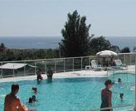 seaside campsite  Concarneau