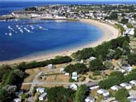 seaside campsite  Ploemeur