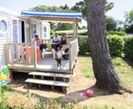 seaside campsite  Plouhinec