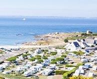 seaside campsite  Quiberon