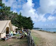 seaside campsite  Noirmoutier-en-l'Ile