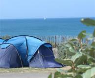 seaside campsite  Les Sables-d'Olonne