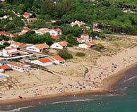 seaside campsite  La Faute-sur-Mer