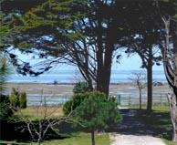 seaside campsite  Rivedoux-Plage