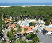 seaside campsite  Messanges