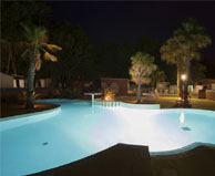 seaside campsite  Canet-Plage