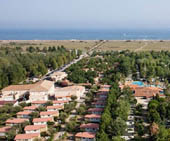 seaside campsite  Vendres-Plage