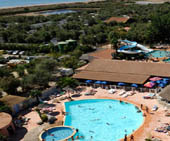 seaside campsite  Valras-Plage
